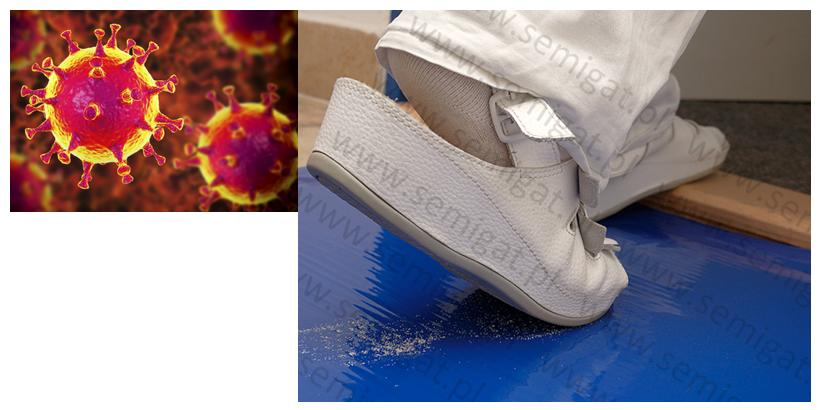 Koronawirus na powierzchniach - rozwiązaniem maty dekontaminacyjne